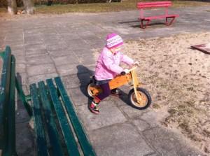 Kinga na rowerze